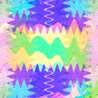 Art abstract colorful rainbow pattern background — Stock Photo