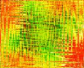 Colorful abstract background in green, orange, yellow and red co — Stock Photo
