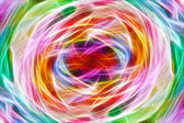 Art abstract bright rainbow pattern background — Stock Photo