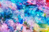 Abstract bright rainbow oil pattern background — Stock Photo