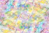 艺术抽象的苍白彩虹油图案背景粉红色黄色 — 图库照片