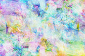 Abstract pale rainbow oil pattern background — Stock Photo