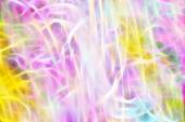 Art, Colorful light streaks abstract background in yellow, pink, — Stock Photo