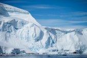 Lodowej na antarktydzie — Zdjęcie stockowe