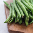 Fresh string beans, raw — Stock Photo #57539817