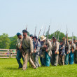 Постер, плакат: Confederates marching