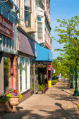 Petoskey businesses — Stock Photo