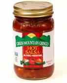 Green Mountain salsa — Stock Photo