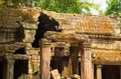 Temple deterioration — Stock Photo