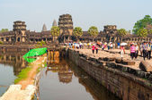Angkor Wat the Moat — Stock Photo
