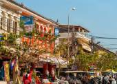 Siem Reap street — Stock Photo