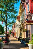 Main Street south — Stock Photo