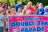 Parade banner — Stock Photo