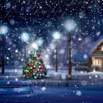 Merry Christmas scene — Stock Photo #51995389
