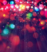Colorful lights background. — Stock Photo