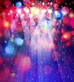 Lights and stars — Stock Photo