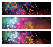 Colorful banners. — Stock Vector