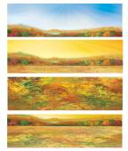 Autumnal banners. — Stock Vector
