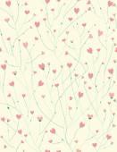 Pattern for Valentine's day design. — Stok Vektör