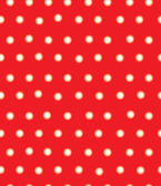 Blurred red polka dots — Stock Vector