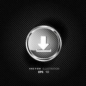 Download web icon — Stock Vector