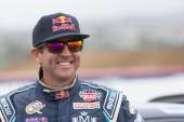 Rhys Millen rally driver at the Red Bull GRC Global Rallycross — Stock Photo