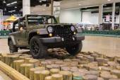 Camp Jeep at the Orange County International Auto Show — Stock Photo