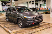 Camp Jeep at the Orange County International Auto Show — Foto Stock
