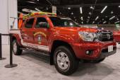 Toyota 4-Runner Sport Utility Lifeguard at the Orange County Int — Stock Photo