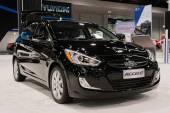 2015 Hyundai Accent at the Orange County International Auto Sho — Stock Photo