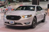2015 Ford Taurus at the Orange County International Auto Show — Foto Stock