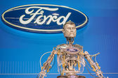 Hank Ford Robot at the Orange County International Auto Show — Foto Stock