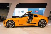 2015 Kia GT4 Stinger at the Orange County International Auto Sho — Stock Photo
