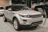 2015 Range Rover Evoque at the Orange County International Auto  — Stock Photo