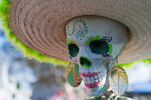 Skeleton at the 15th annual Day of the Dead Festival — Zdjęcie stockowe