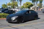 Tesla Model X at the Supercar Sunday Electric Vehicles — Stock Photo