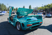 Vector Avtech WX-3 at the Supercar Sunday Electric Vehicle — Stock Photo