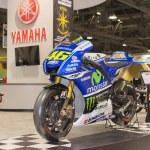 Постер, плакат: Yamaha YZR M1 motorcycle