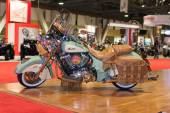 Indian Motorcycle Chief Vintage 2015 on display — Stock Photo
