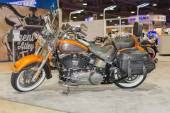 Harley-Davidson Heritage Softail Classic Motorcycle 2015  — Stock Photo