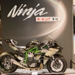 Постер, плакат: Kawasaki Ninja H2 R 2015 motorcycle