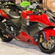 Постер, плакат: Kawasaki Ninja ZX 14R ABS 30th Anniversary Edition motorcycle