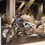 Постер, плакат: Ducati Diavel Titanium 2015 motorcycle