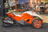 Can-Am Spyder ST 2015 motorcycle — Stock Photo