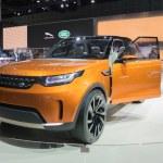 ������, ������: Land Rover Discovery Vison Concept car 2015