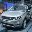 Постер, плакат: Land Rover Discovery Sport HSE Luxury car 2015