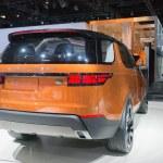 Постер, плакат: Land Rover Discovery Vison Concept car 2015