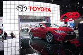 Toyota Camry 2015  on display — Stok fotoğraf