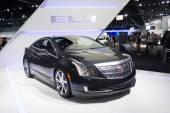 Cadillac ELR car on display — Stock Photo