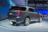 Ford Expedition 2015 on display — Stock Photo